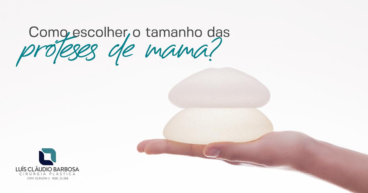 Prótese de mama | DR. LUIS CLAUDIO BARBOSA